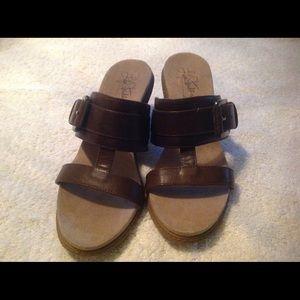 Very nice sandals worn twice.